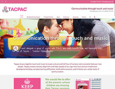 New Tacpac Website