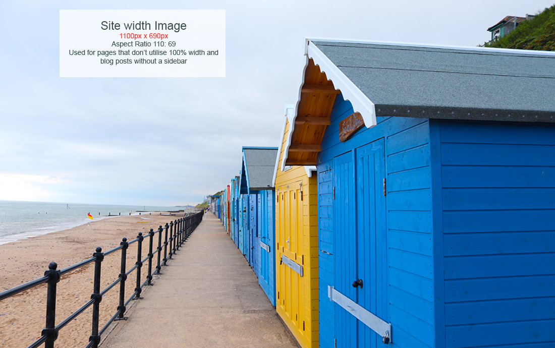 Site width images