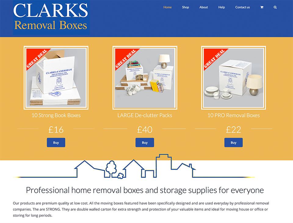 Clarks ecommerce shop